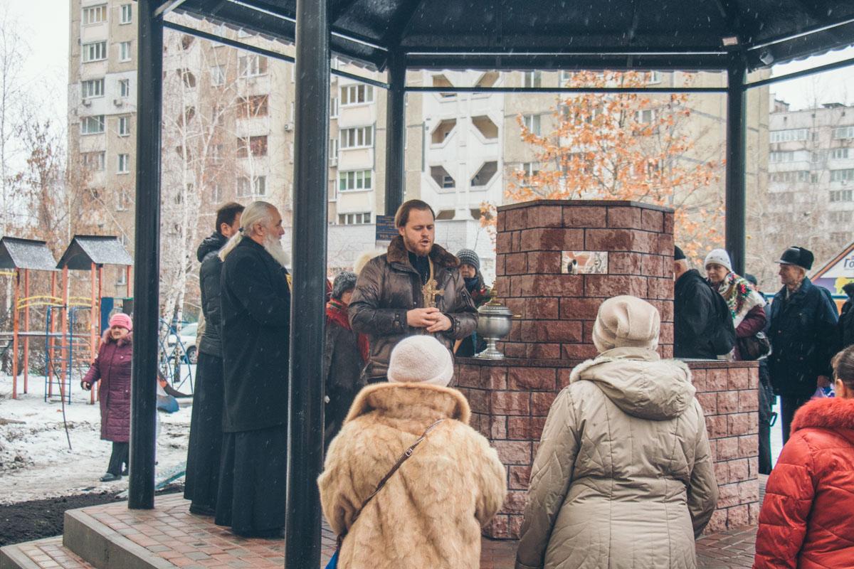 Священник рассказал, что открытие бювета является знаменательным событием