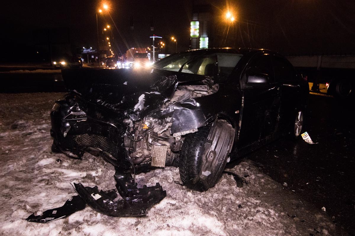 По словам очевидцев, Mitsubishi двигался на красный сигнал светофора