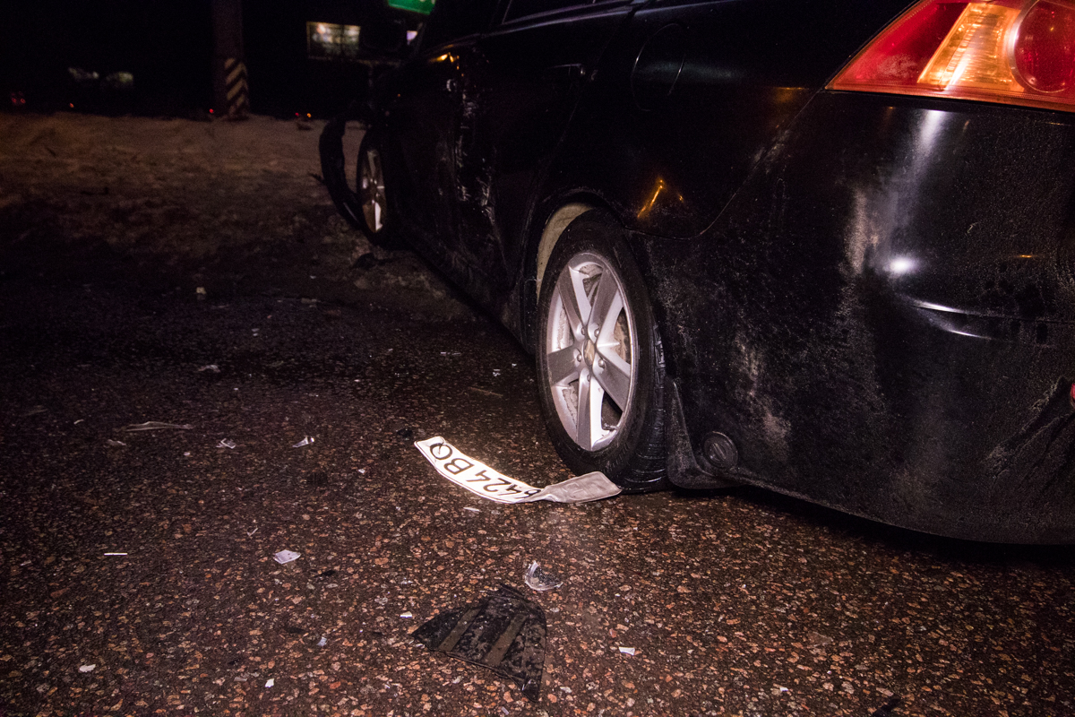 В результате аварии сильно пострадал пассажирHyundai