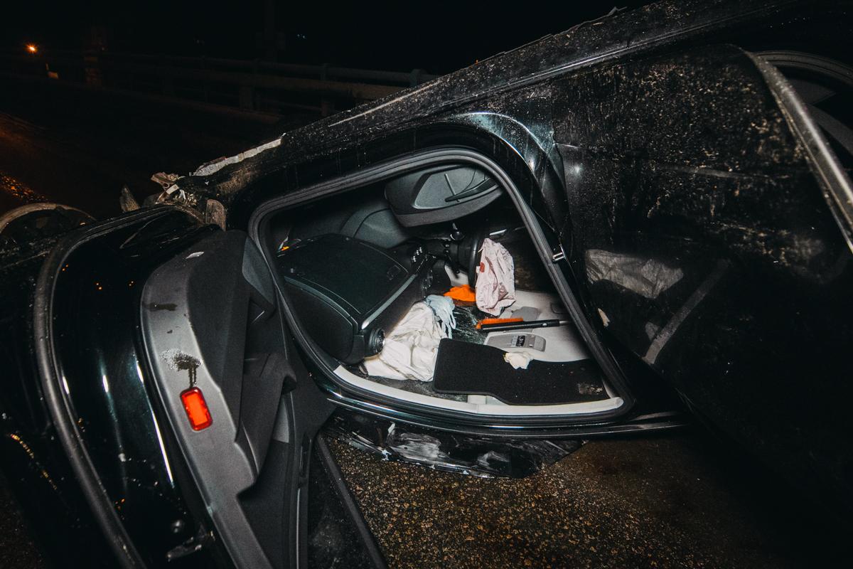 Водитель автомобиляAudi двигался по Столичному шоссе в сторону улицы Заболотного