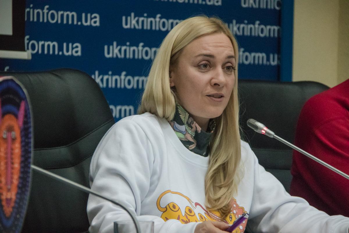 Директор департамента культуры КГГА Диана Попова
