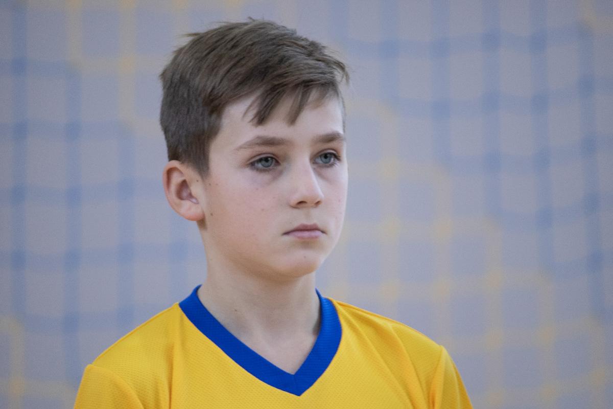 Юные футболисты желали стать первыми победителями на новой площадке