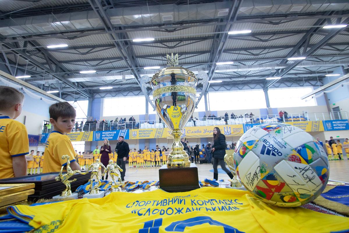 Новую историю современного комплекса начал турнир по мини-футболу