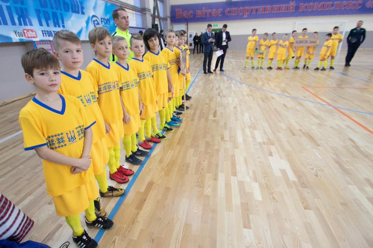 Петр Порошенко открыл новый спортивный комплекс