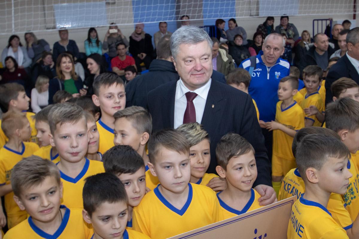 Президент Украины похвалил Днепропетровскую ОГА и Слобожанскую громаду за их работу