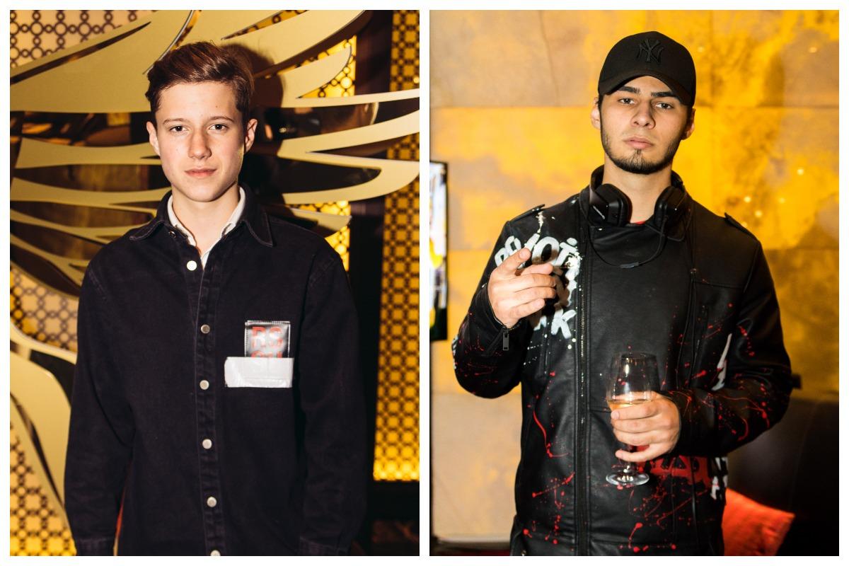 Среди гостей мероприятия, на котором объявили номинантов были восходящие украинские звезды Андрей Бойко и Никита Ломакин