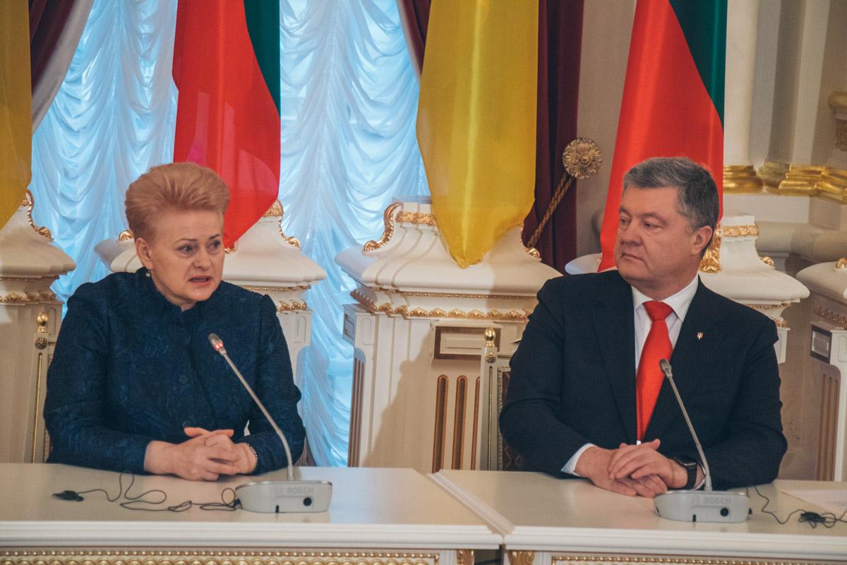 """""""Мы очень четко говорим о своей военной и гуманитарной поддержке Украины и открыто об этом заявляем», - подчеркнула президент Литвы"""