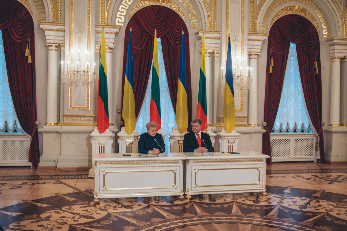 Президенты Украины и Литвы сделали ряд заявлений