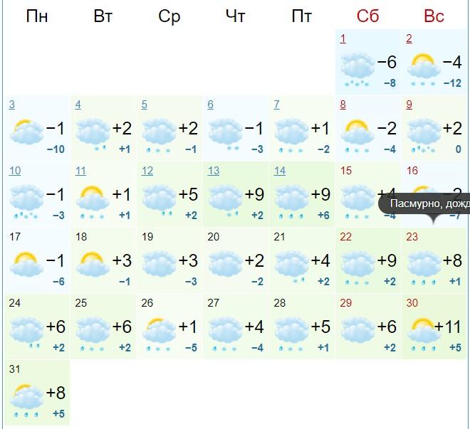 30 декабря синоптики прогнозируют рекордную температуру - 11°С