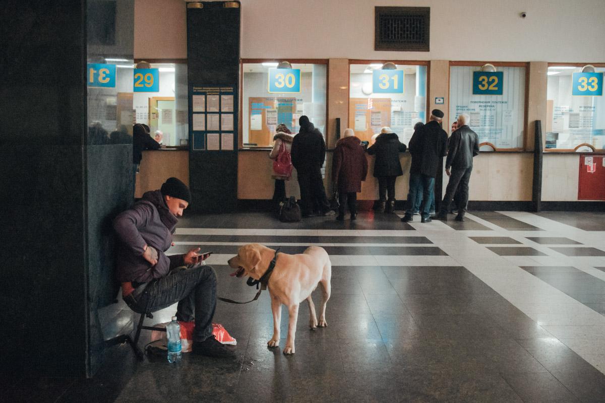 В данный момент билетные кассы на вокзалах столицы работают в штатном режиме