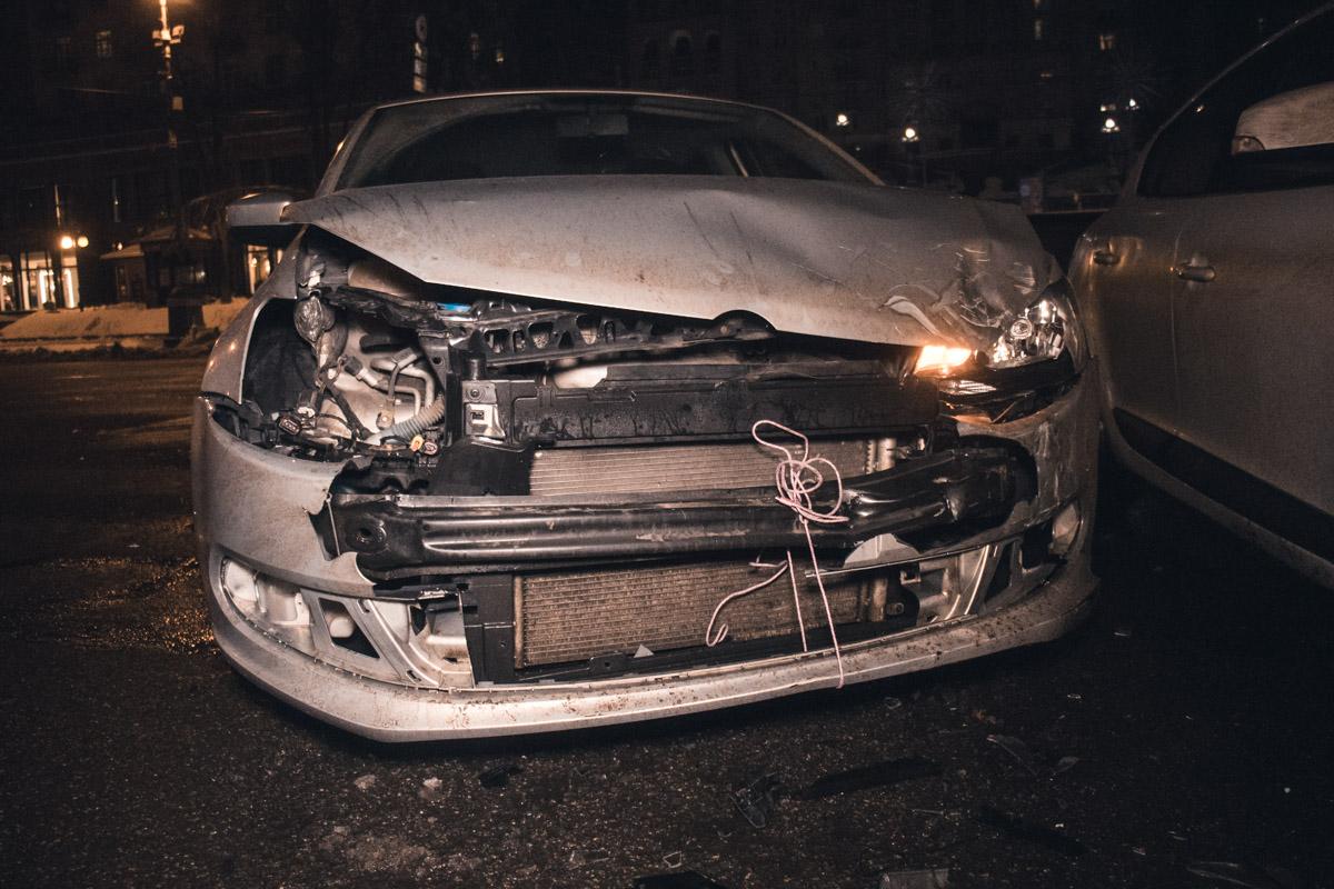 В результате аварии никто не пострадал