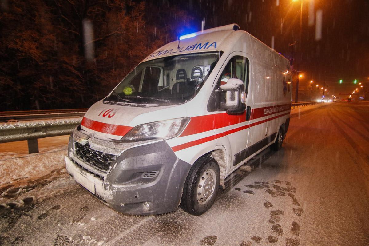 Водителя грузовика госпитализировали в больницу
