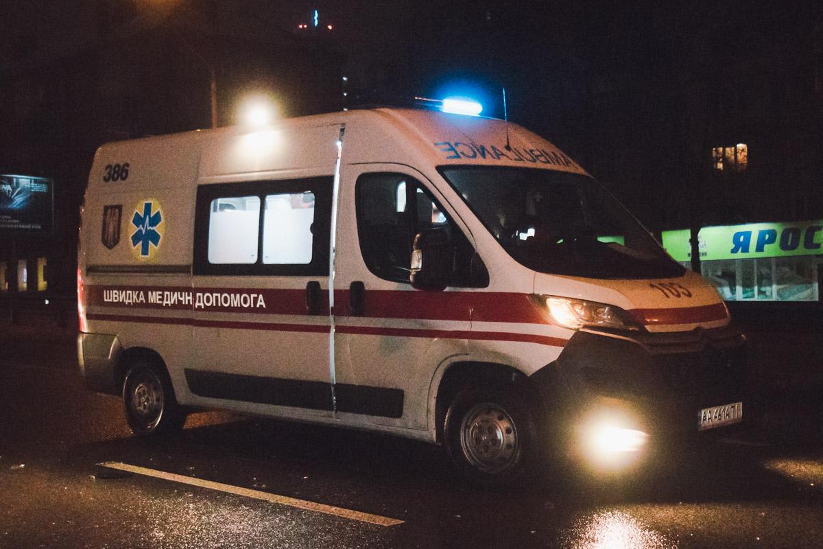 Пассажира Hyundai госпитализировали в больницу