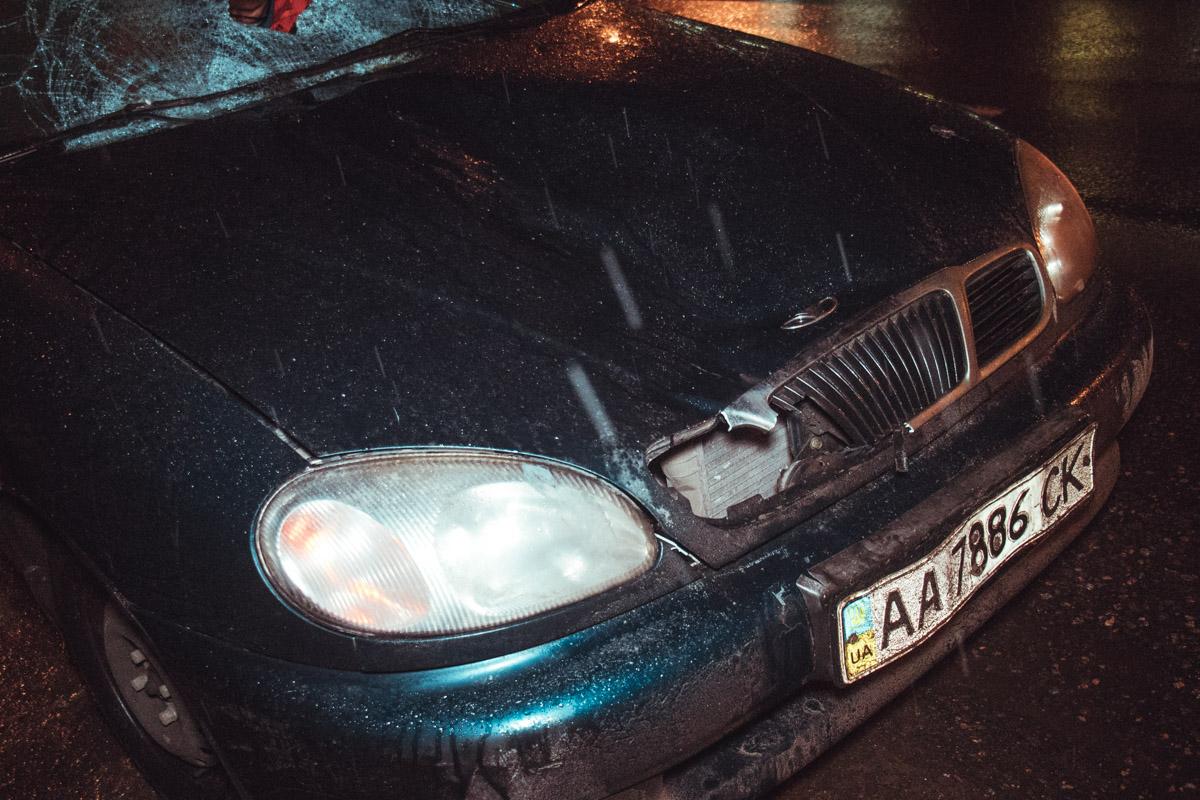 Daewoo Lanos сбил пешехода по адресу улица Привокзальная, 1