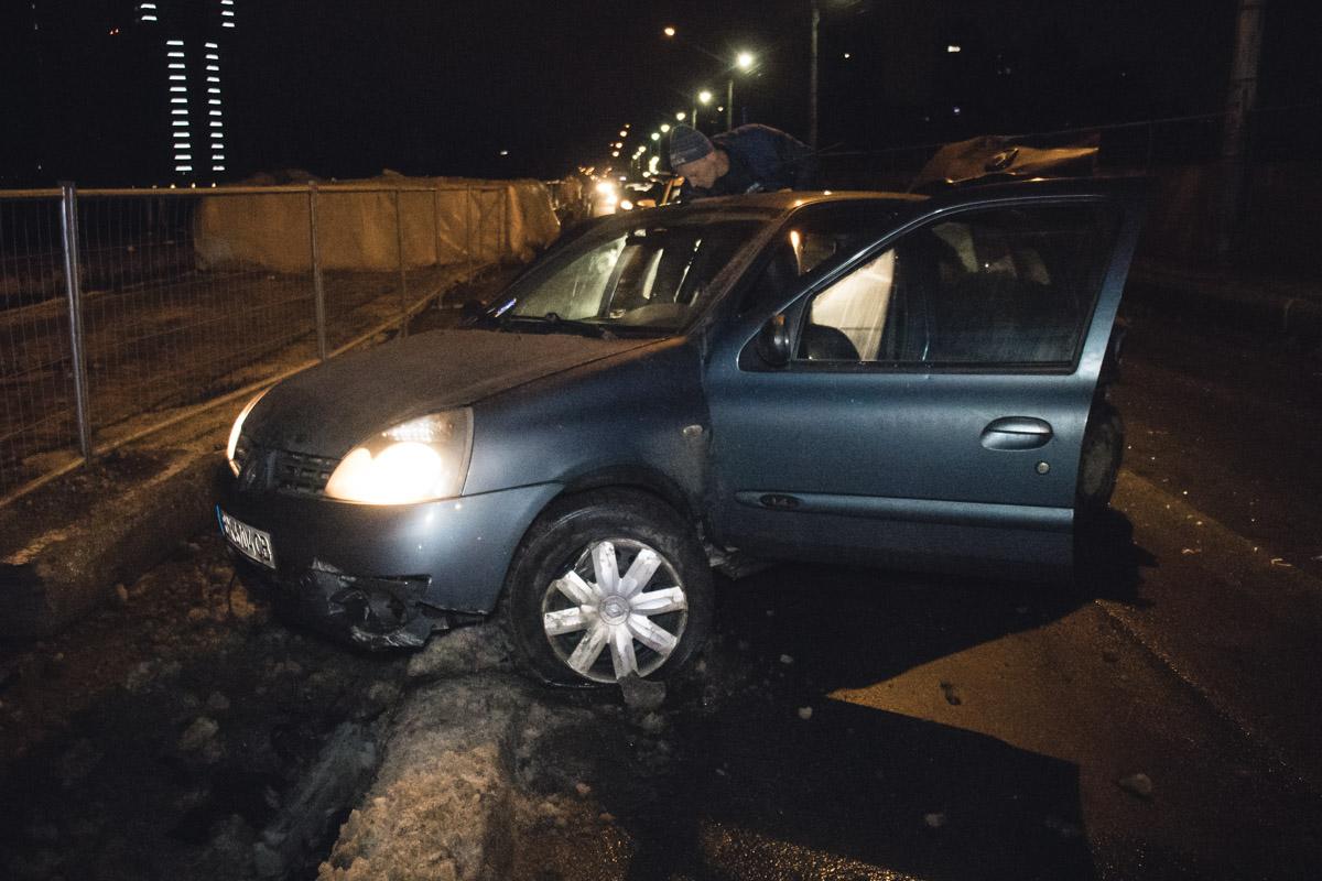 У водителяMitsubishi были явные признаки алкогольного опьянения