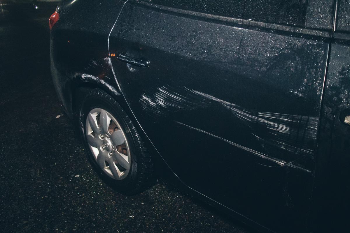 В пятницу, 28 декабря, на повороте в Вышгород произошло ДТП