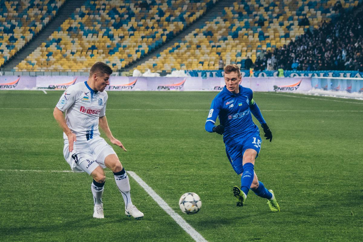Виктор Цыганков сделал большой вклад в победу киевлян