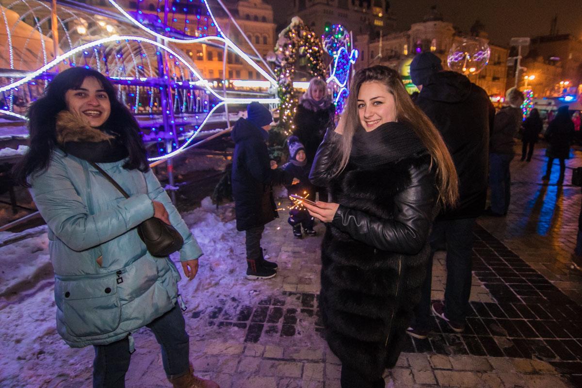 У главное елки страны царила по-настоящему новогодняя атмосфера