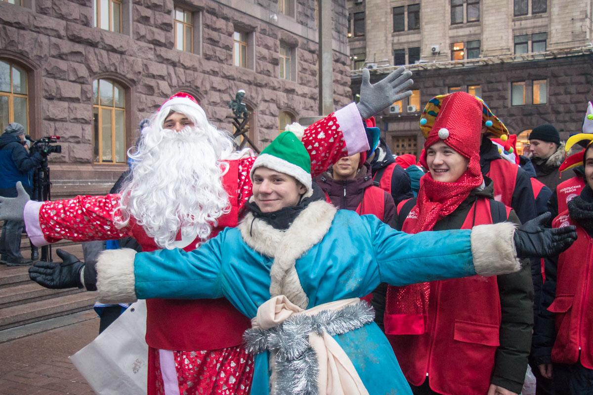 Цель парада - подарить людям радость и атмосферу праздника