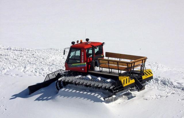 В Драгобрате машина для подготовки горнолыжных склонов переехала жительницу Киева