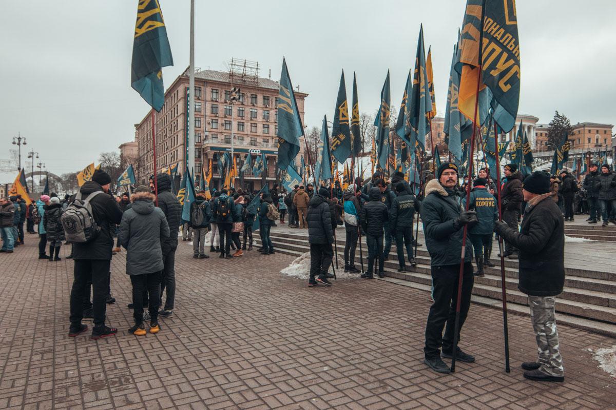После Майдана Нацкорпус выдвинулся на Банковую