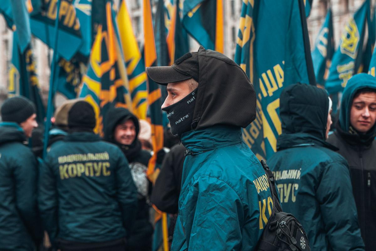 Нацкорпус требует запретить российский бизнес в Украине