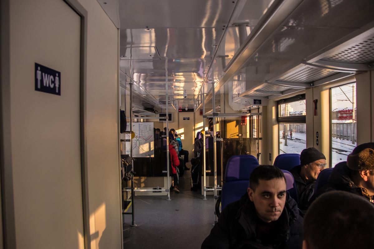 Цена на проезд в поезде – 80 гривен