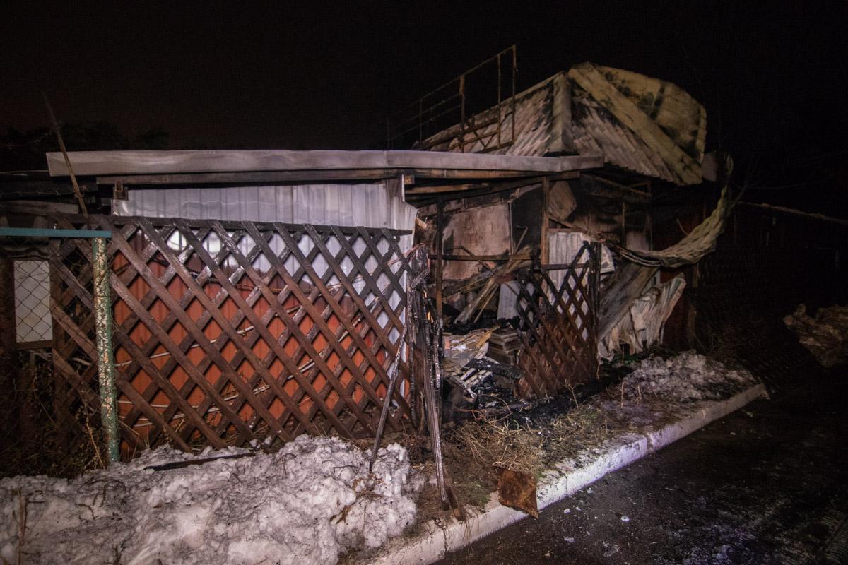 24 декабря в Киеве на Лесном массиве произошел пожар