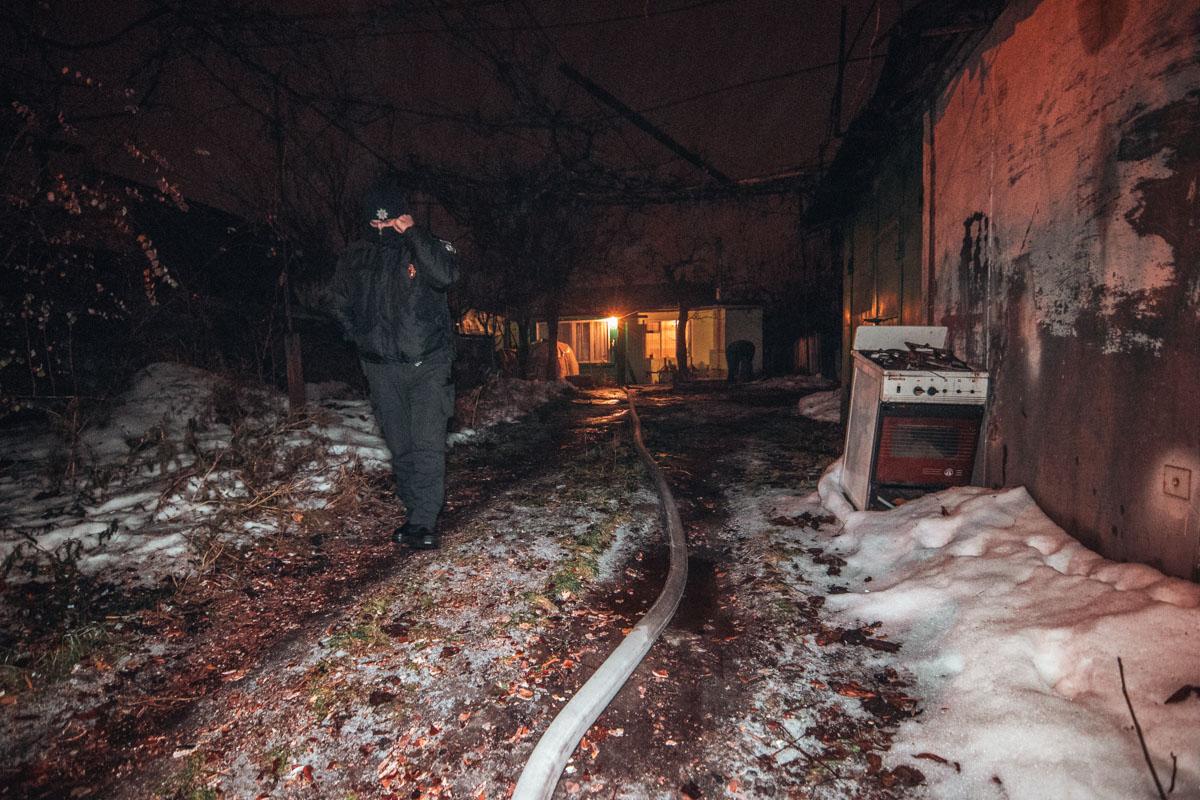 9 декабря в Киеве по адресуулица Евгена Маланюка, 77 произошел пожар