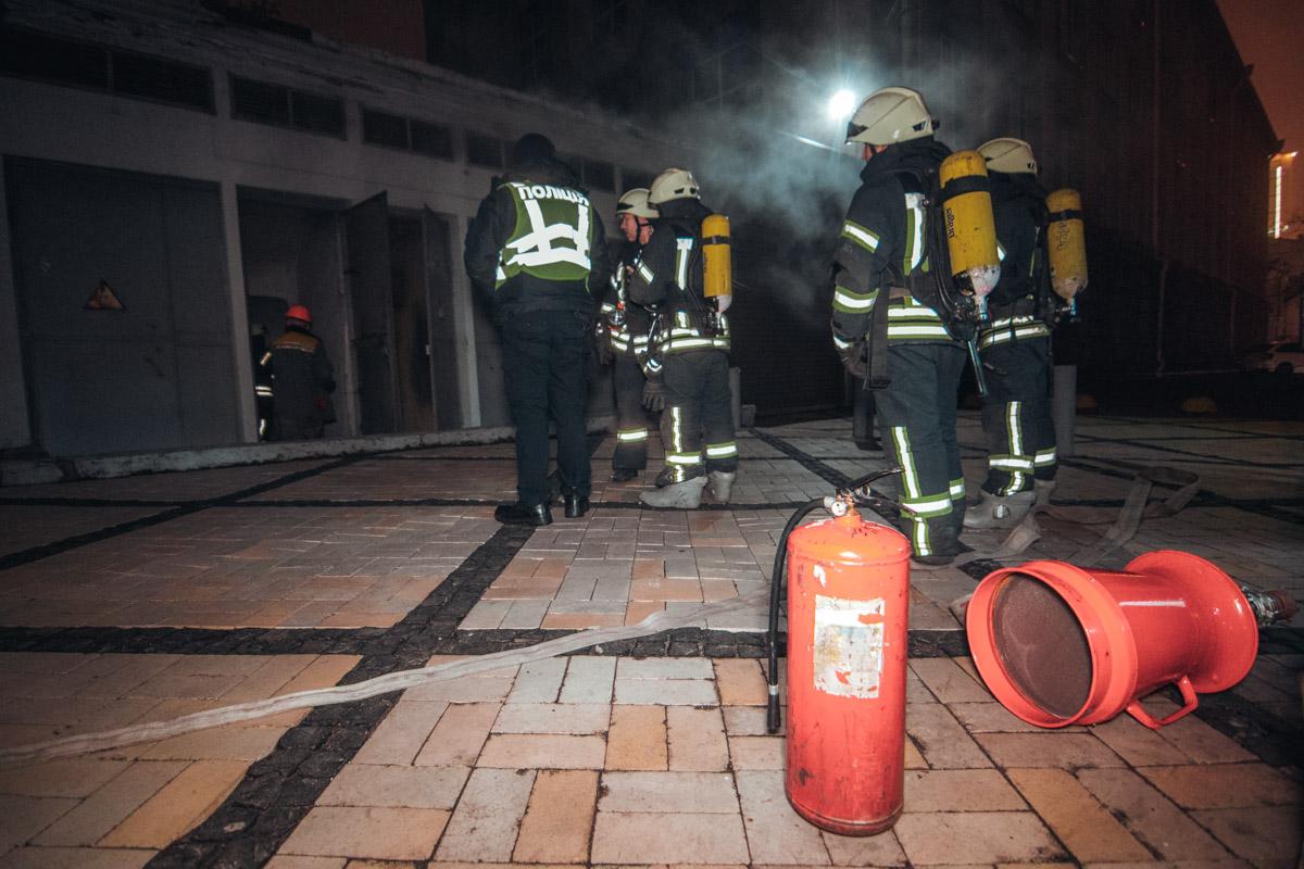 Ликвидировать пожар удалось спустя 40 минут