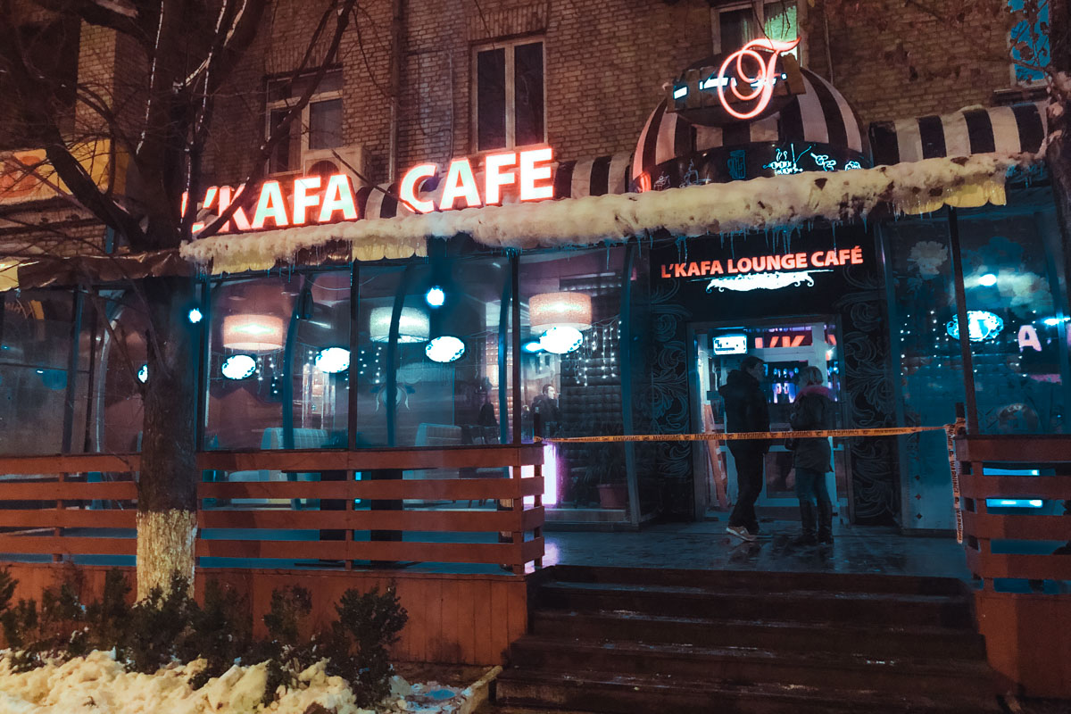 16 декабря в Киеве на Дарнице загорелся ресторан L'KAFA