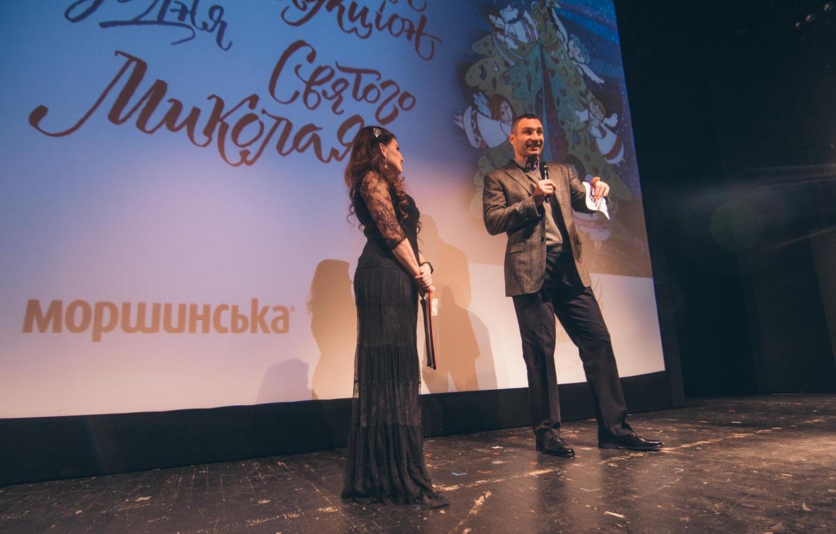 Изюминку мероприятия приготовил мэр столицы Виталий Кличко, его лот-сюрприз оценивали в 100 тысяч гривен