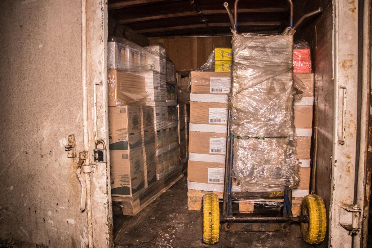 Как стало известно со слов пожарной службы, Газель была на загрузке в складе на территории ВДНГ