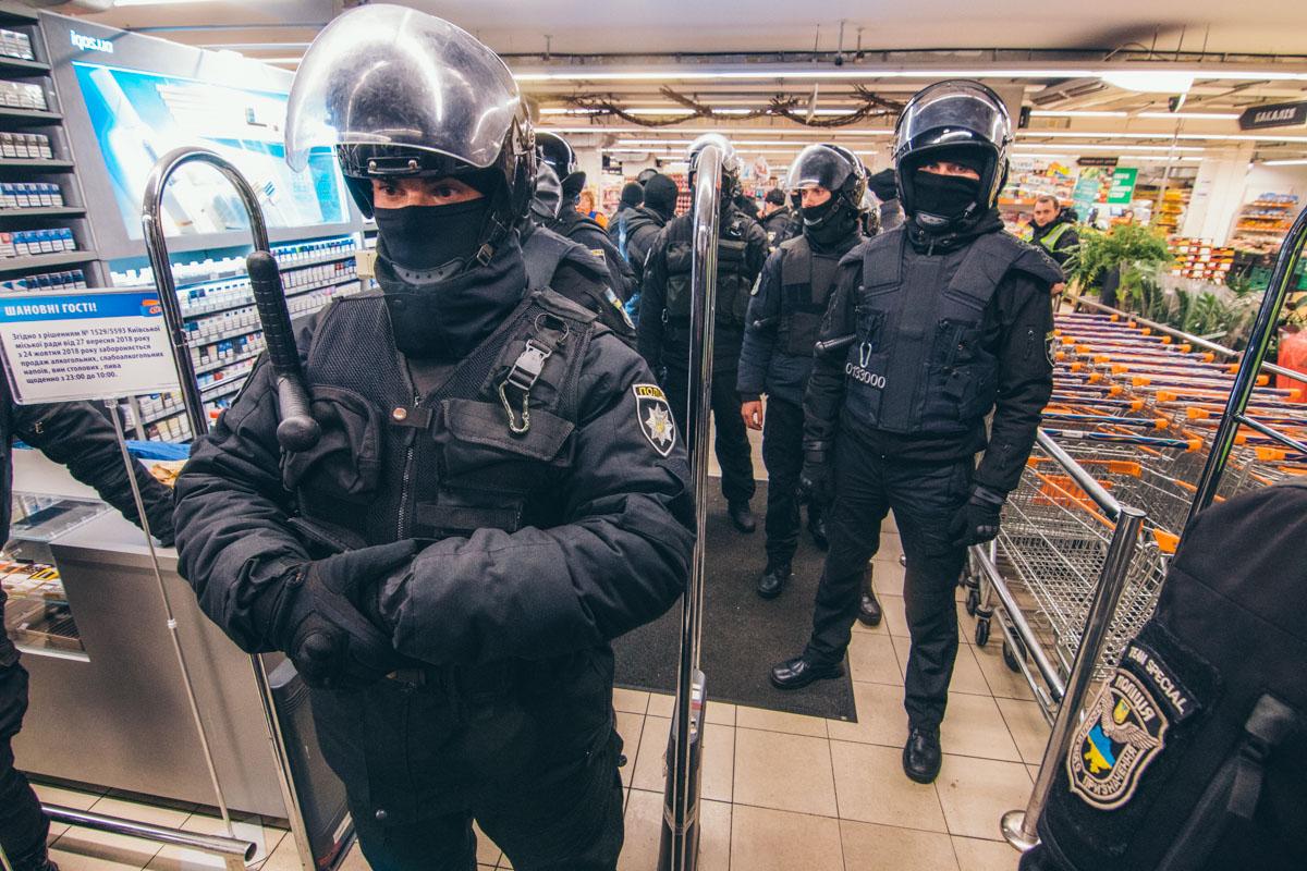 Помещения полностью контролируются сотрудникам правоохранительных органов