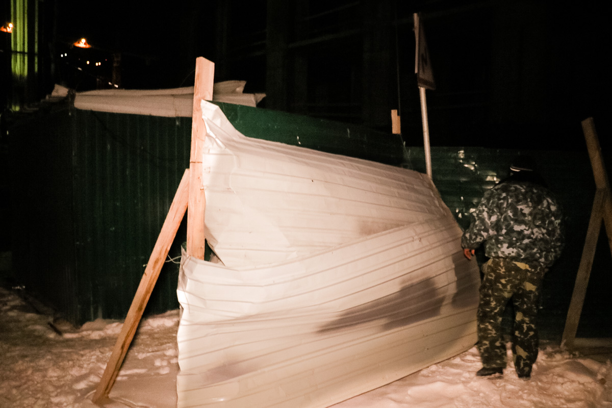 17 января в Дарницком районе Киева во время проведения работ на стройке произошел несчастный случай
