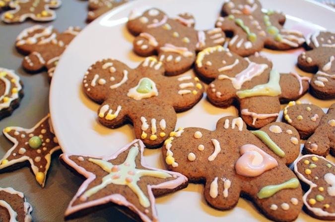 Имбирное печенье с давних времен считается рождественской сладостью