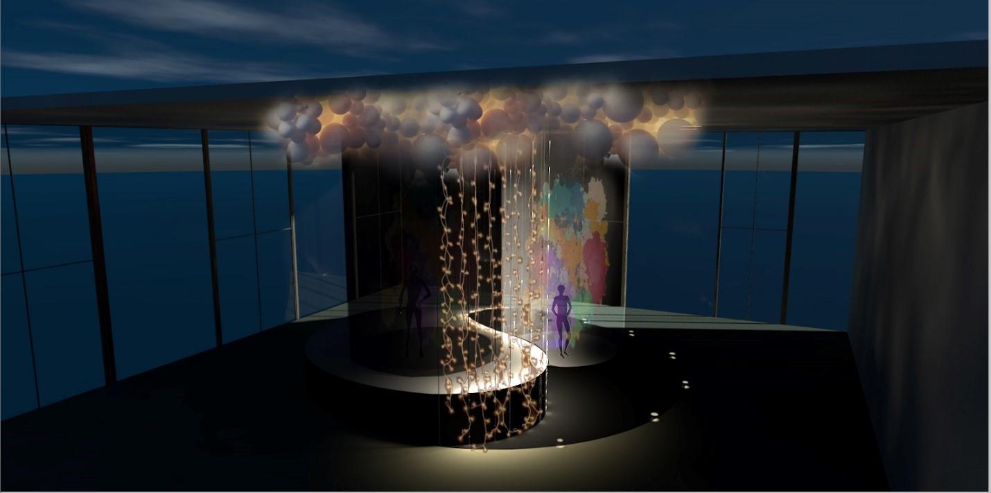 На ВДНГ можно будет увидеть лазерные, световые и VR-инсталляции и арт-объекты, реагирующие на звуки и движения