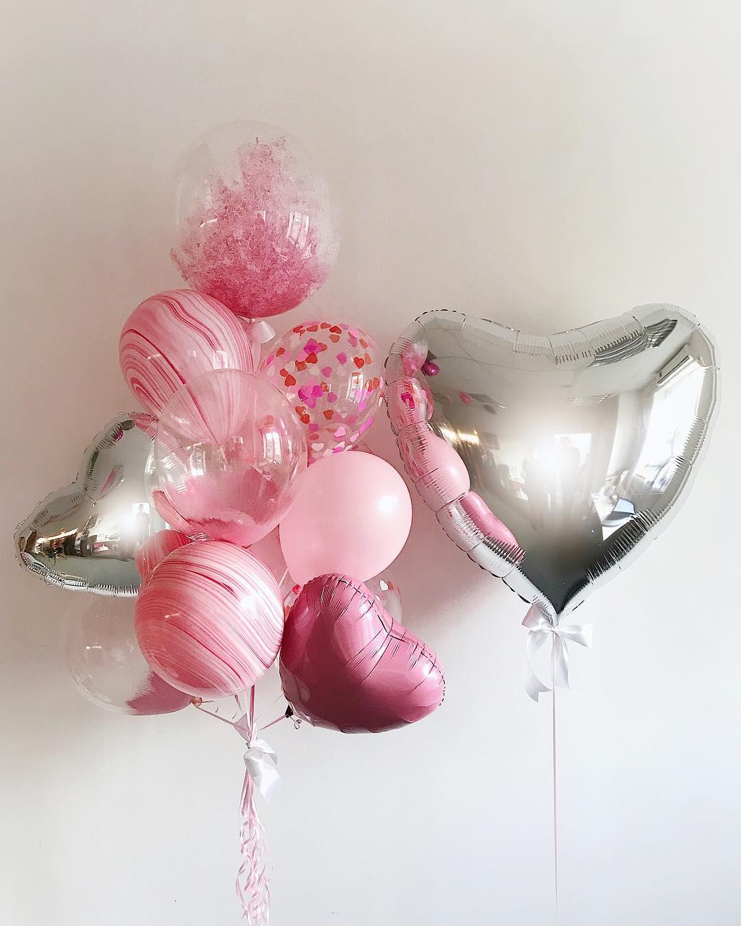 Подарите возлюбленной атрибут для эффектных фото - воздушные шары. Instagram: @shar.lux