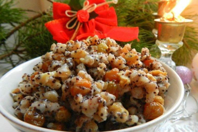 Из перловки получается вкусное, красивое и полезное рождественское блюдо!