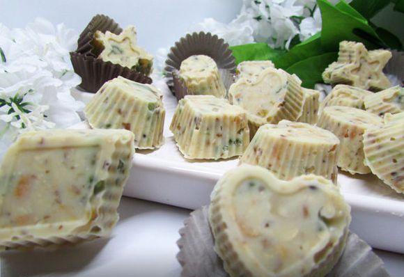 Конфеты получаются с ярко выраженным лимонным вкусом и ароматом