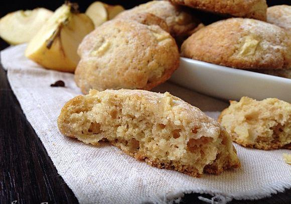 Яблочное печенье - очень вкусное, ароматное и сытное