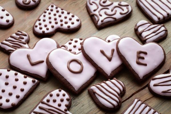 Шоколадная валентинка - и вкусно, и приятно!