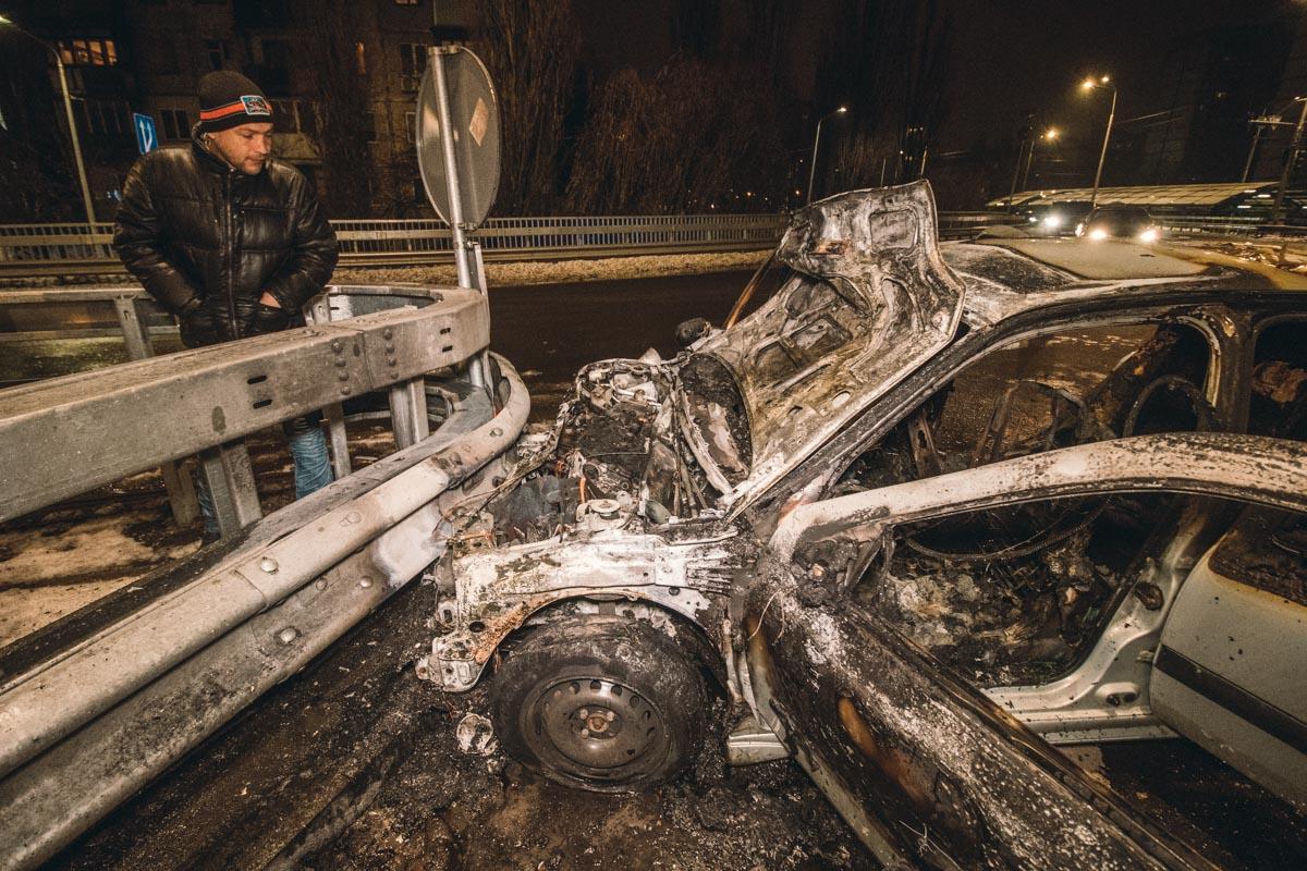 По словам свидетеля, авто двигалось с очень высокой скоростью и водитель не справился с управлением