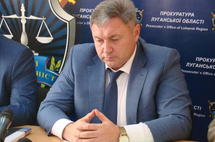 Экс-председатель Луганской облгосадминистрации Юрий Гарбуз