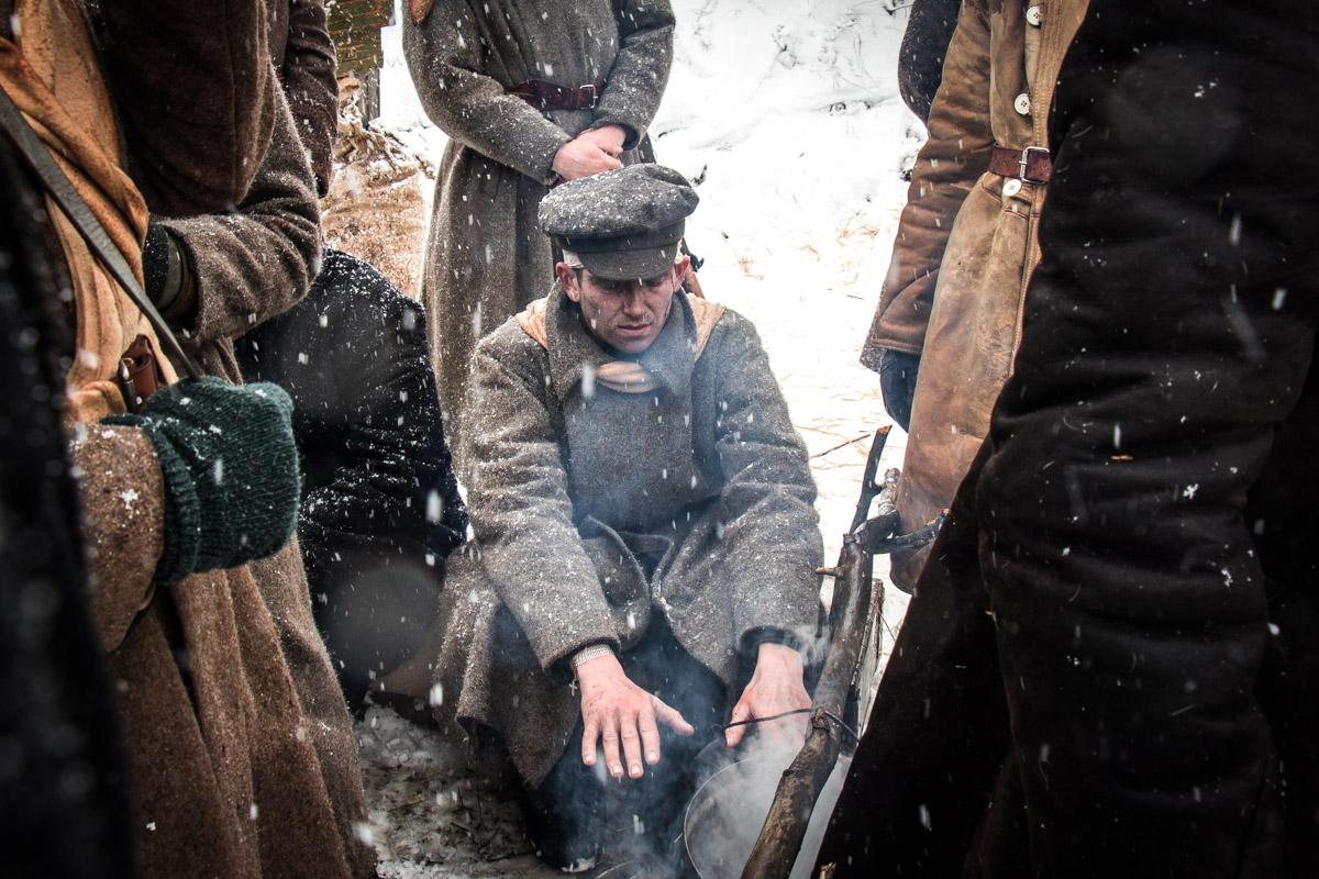 Фильм снимали на 20-градусном морозе