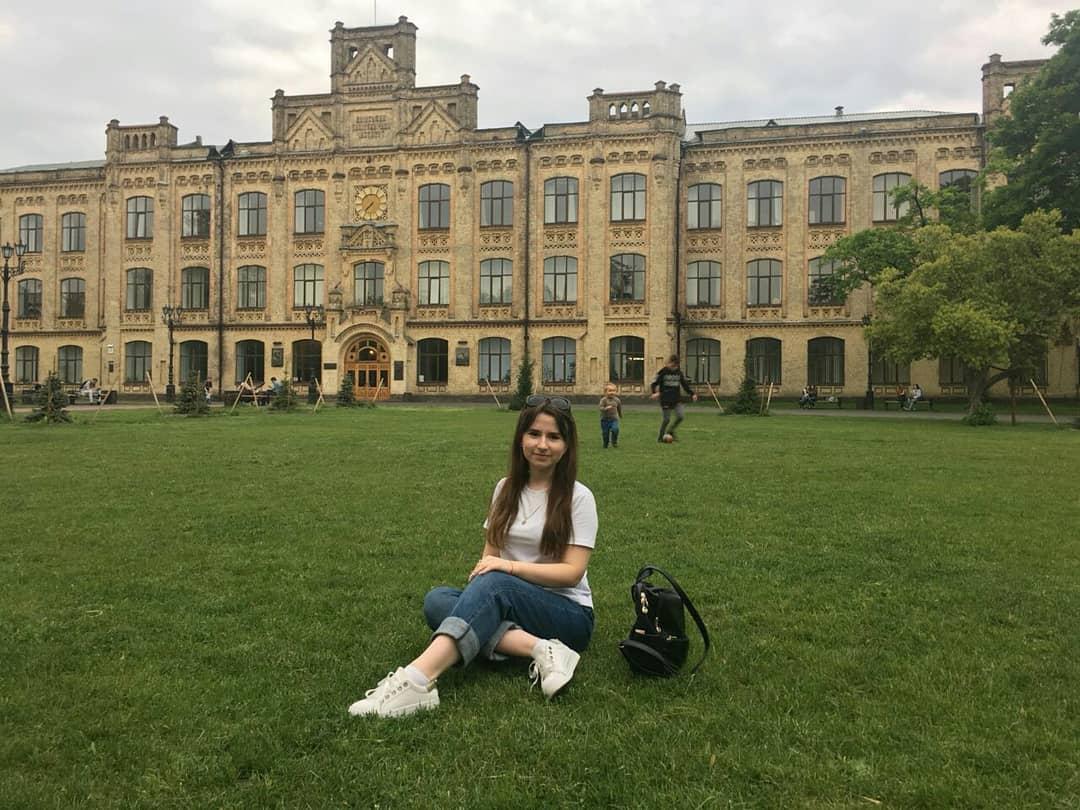 Если вам не сказать, что это фото сделано в Киеве, его можно принять за кампус в американском вузе - @anastasiia_kurkina_