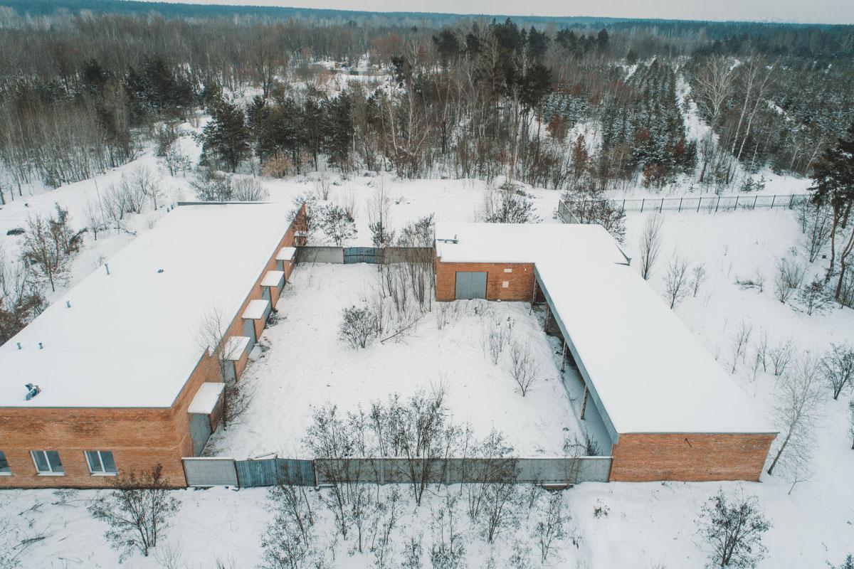 В дополнение к кладбищу будут построены АТП и хозяйственные помещения