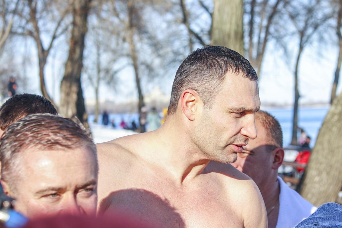 Приезда Виталия Кличко жители Киева ожидали с нетерпением