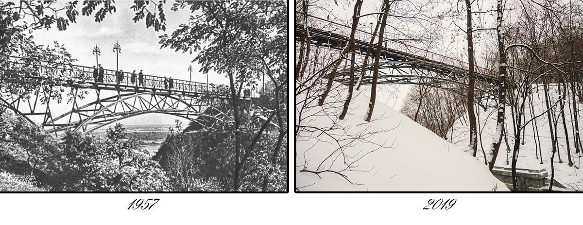 Во время реконструкций мосту старались оставить изначальный вид
