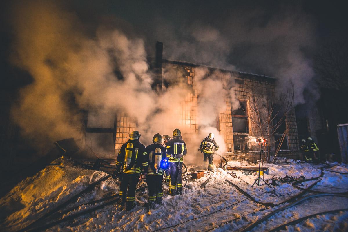 Пожару присвоили ранг повышенной сложности